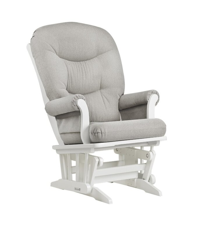 Nursing Gliding Chair dutailier sleigh frame reclining glider and