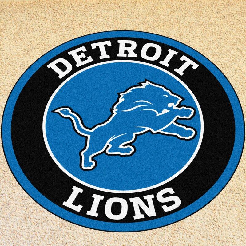 Fanmats Nfl Detroit Lions Roundel Mat Wayfair
