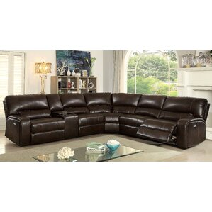 Red Barrel Studio Mendenhall Reclining Sectional