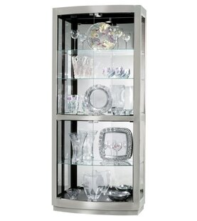 Bethzy Lighted Curio Cabinet