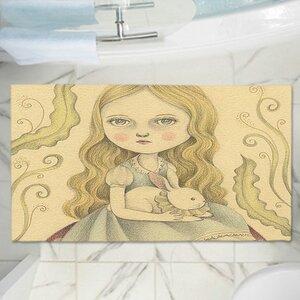 Amalia K.'s Alice Contemplating Memory Foam Bath Rug
