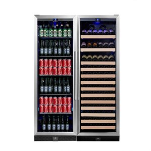 131 Bottle Dual Zone Built-In Wine Cellar..