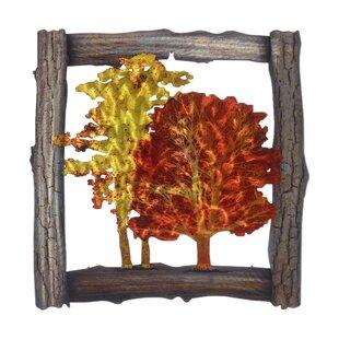 Metal Pine Tree Wall Art | Wayfair
