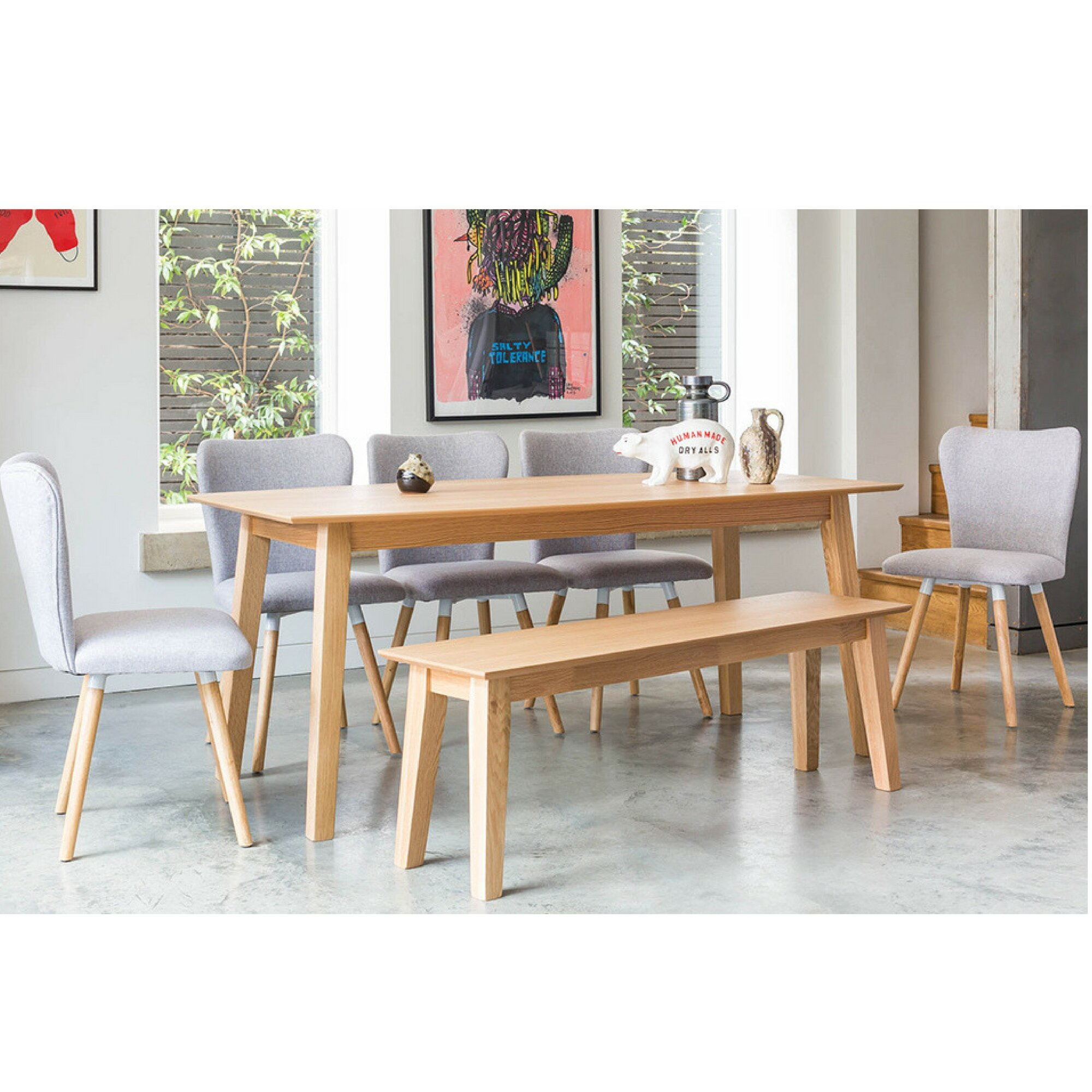 Norden Home Fairway Dining Set With 5 Chairs And 1 Bench Wayfair Co Uk
