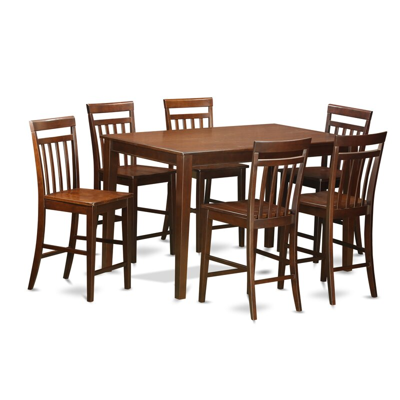 Exceptionnel Araminta 7 Piece Counter Height Pub Table Set