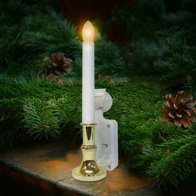 Carolite Pro Solar Holiday Flameless Window Candle
