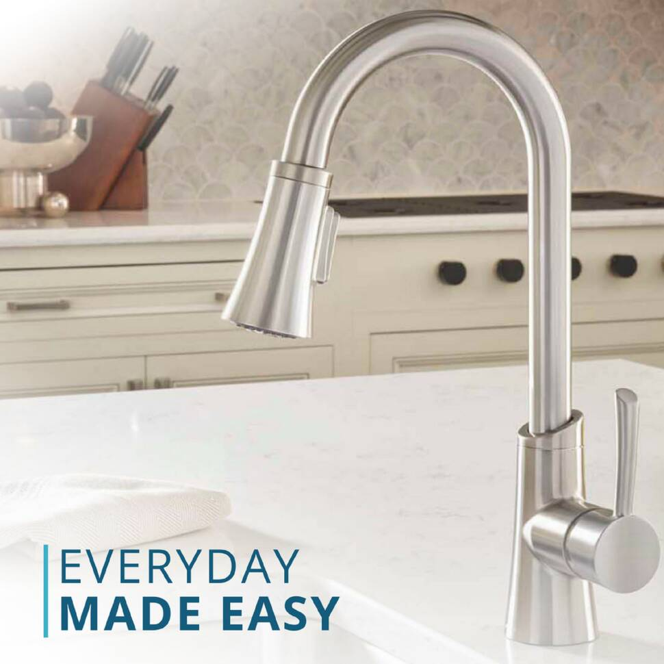 Elkay Single Handle Kitchen Faucet With Side Spray Wayfair The Wiring Above Can Be Used For Time Switches As Energy From Classic To Contemporary