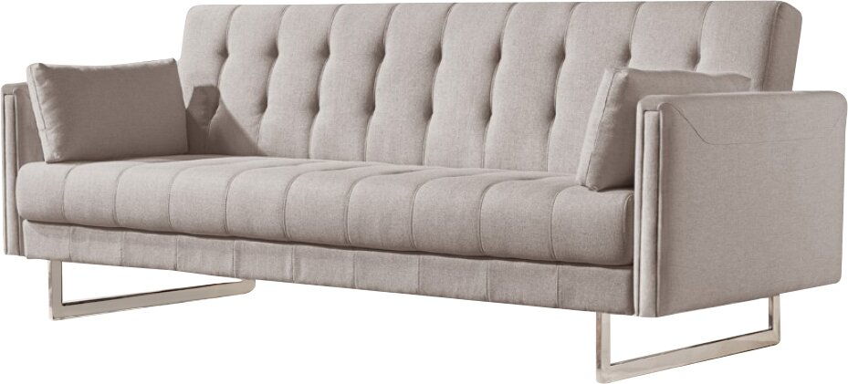 Orren Ellis Cana Wood Frame Sleeper Sofa Reviews Wayfair