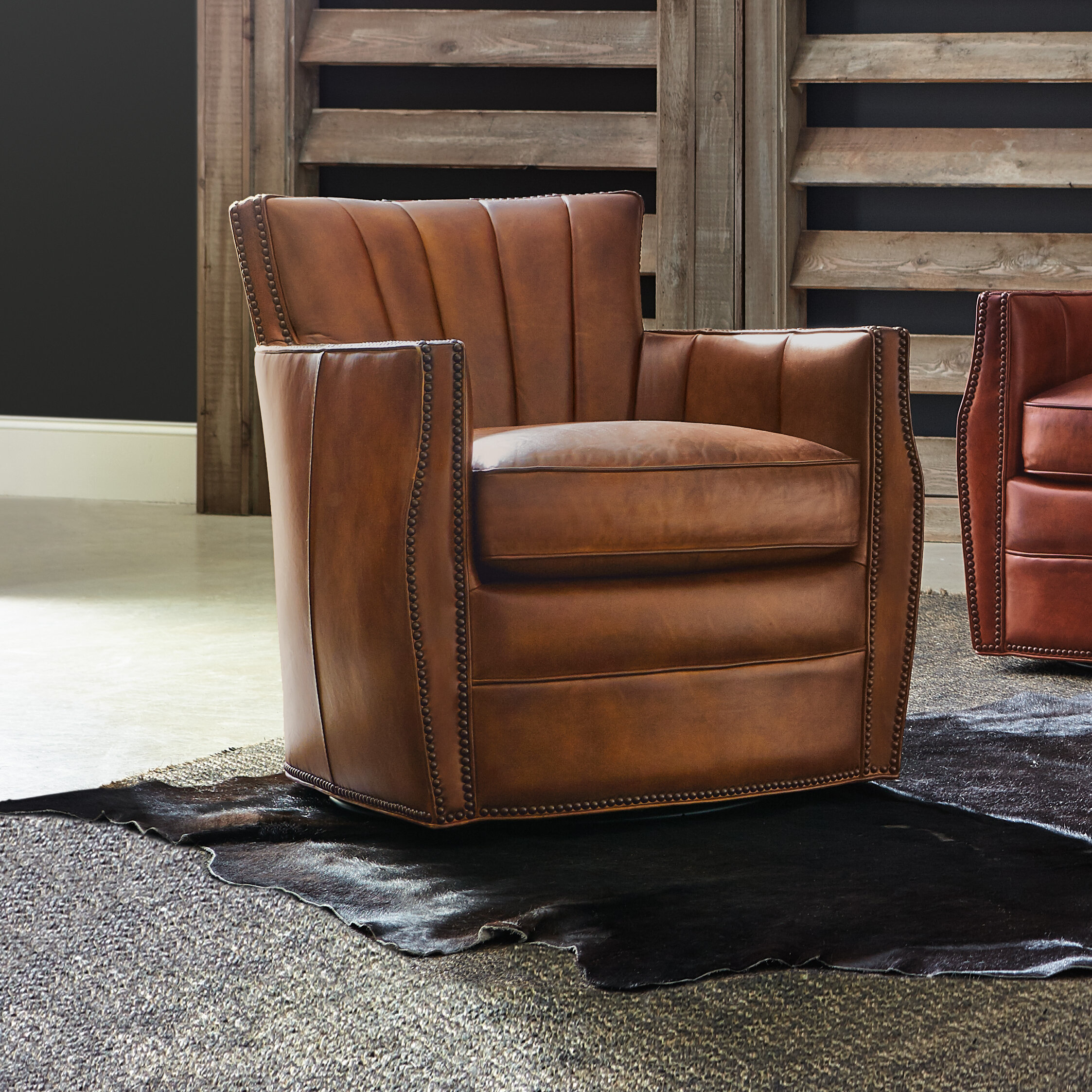 Hooker furniture carson swivel club chair reviews wayfair ca
