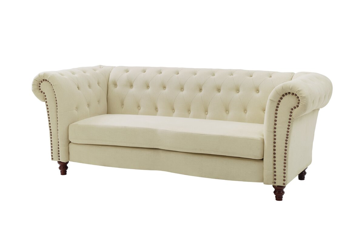 Perfect Renhold Chesterfield Tufted Back Sofa