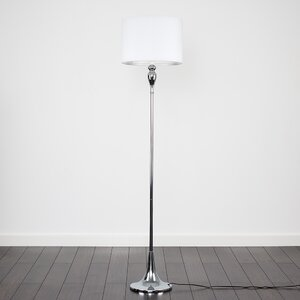 White floor lamps wayfair save to idea board beige black mozeypictures Image collections