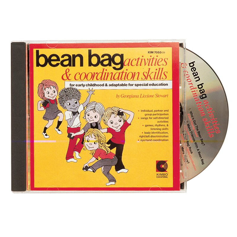 Bean Bag Activities Ages 3-8 CD