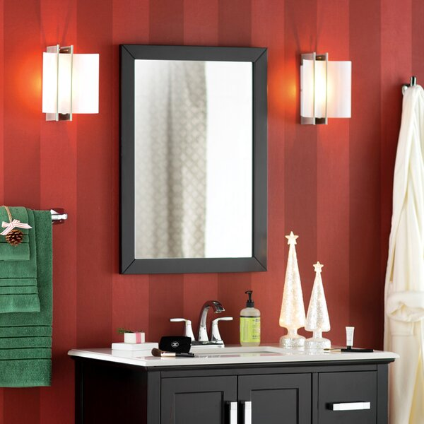 bathroom mirrors youll love wayfair - Bathroom Sink And Mirror
