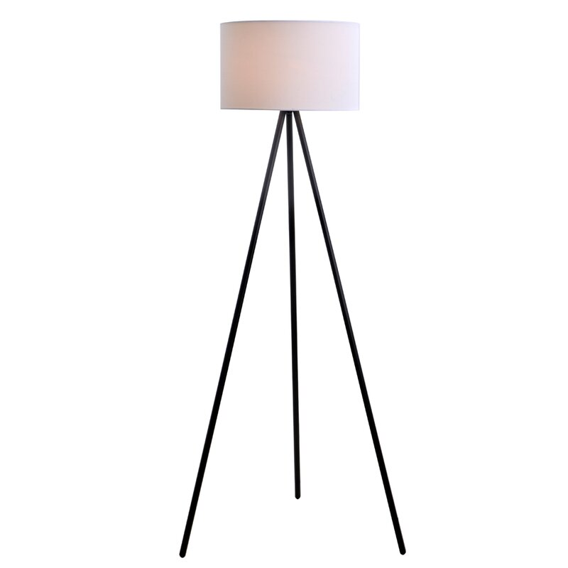 Wrought studio 61 tripod floor lamp reviews wayfair 61 tripod floor lamp aloadofball Gallery