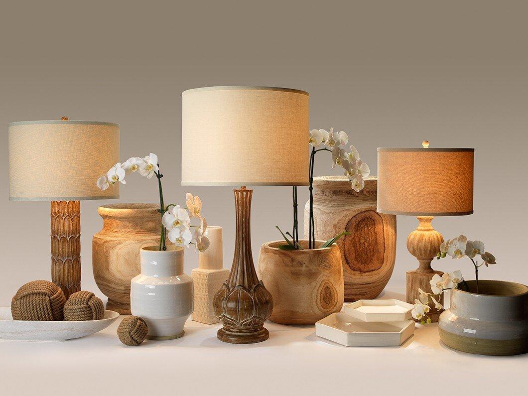 Gracie oaks baden natural wooden floor vase reviews wayfair baden natural wooden floor vase reviewsmspy
