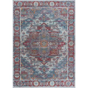 Dominick Transitional Oriental Cream Area Rug
