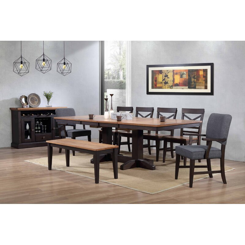 Genial Hayden Trestle Dining Table