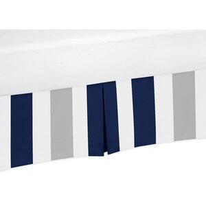 Stripe Crib Skirt