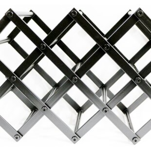 Granton Foldable 8 Bottle Tabletop Wine Rack