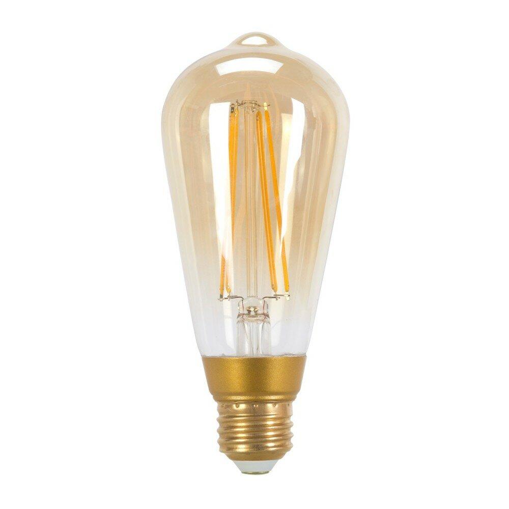 73193 60w Equivalent Soft White 2200k Vintage Edison Dimmable Led Light Bulb