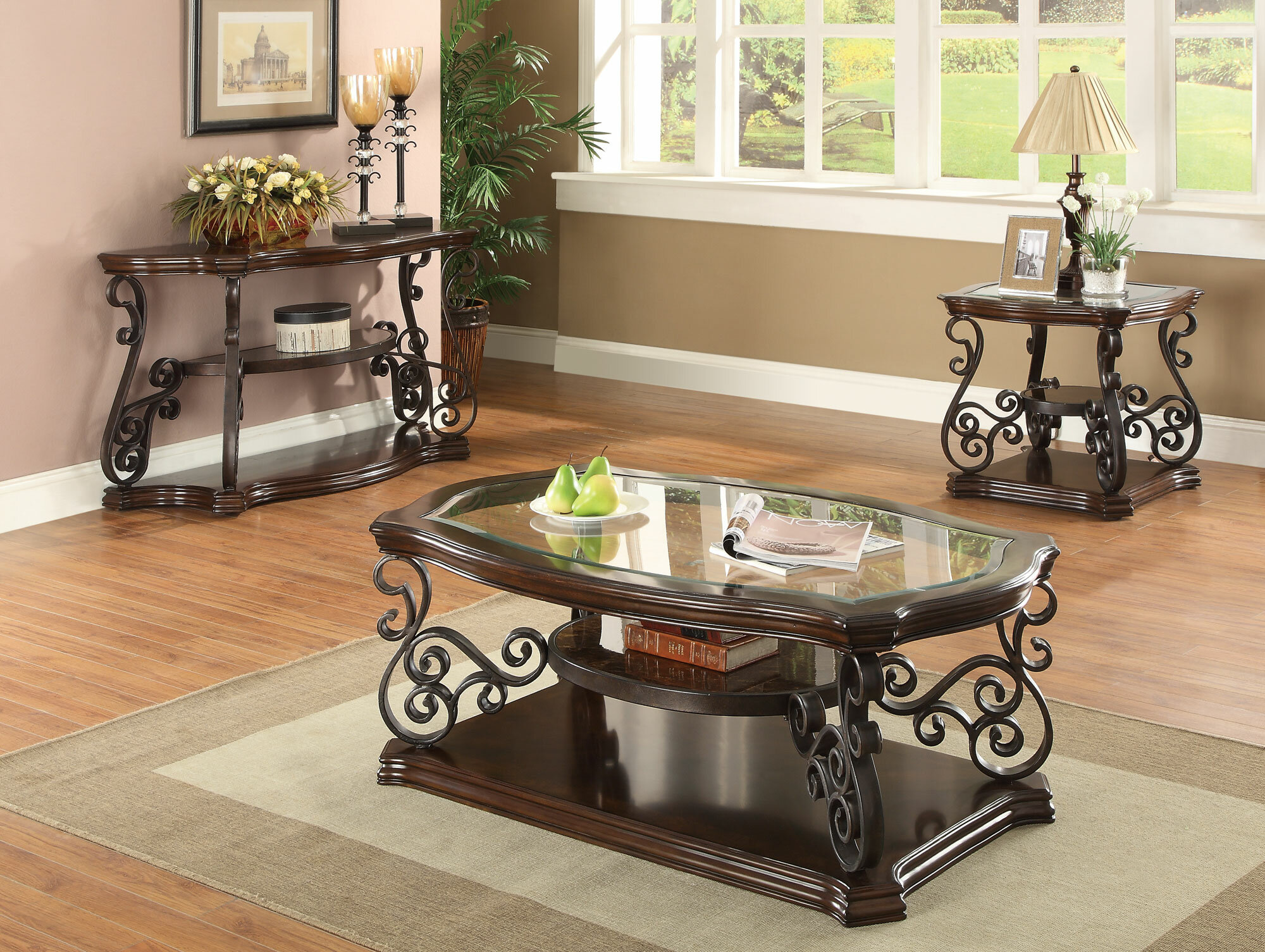 Superieur Bearup 3 Piece Coffee Table Set