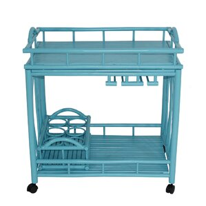 Tomoe Bamboo Outdoor Rolling Buffet and B..