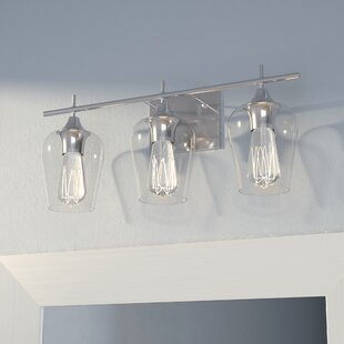 3 light bathroom fixture industrial staci 3light vanity light bathroom lighting