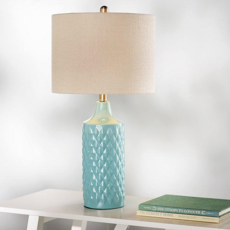 "Beachcrest Home Melbourne Beach 26.6"" Table Lamp & Reviews"