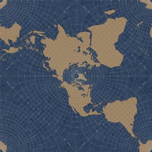Seminole 33 L X 20 5 W Maritime Map Wallpaper Roll By World Menagerie