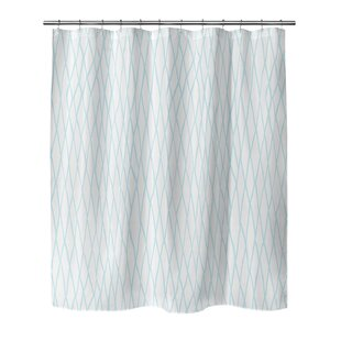 Opheim Chain Link Single Shower Curtain