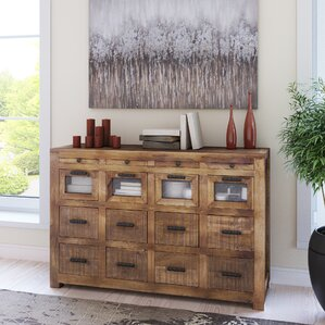 Anatole Craftsman 12 Drawer Sideboard by Loon Peak