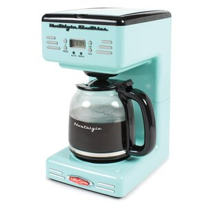 12-Cup Retro Series Programmable Coffee Maker