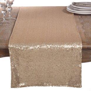 beige table runners you ll love wayfair