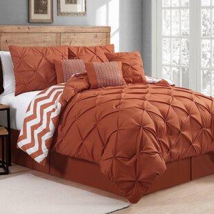 Burnt Orange Comforter Set Wayfair
