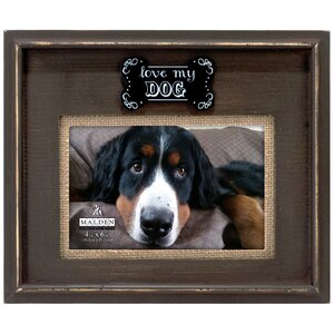 love my dog picture frame - Dog Frame