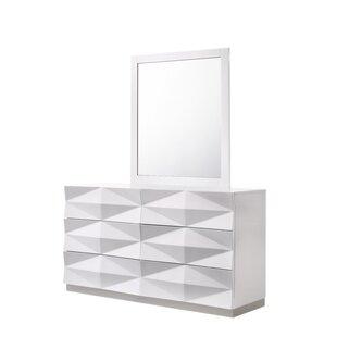 Baldree Rectangular Dresser Mirror