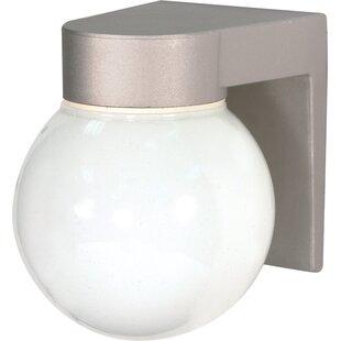 Modern plastic outdoor wall lighting allmodern plastic outdoor wall lighting aloadofball Choice Image