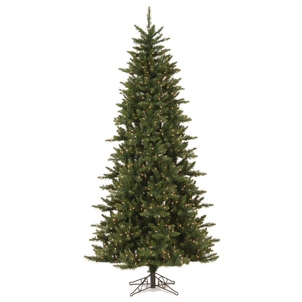 The Holiday Aisle Camdon Fir 75 Green Artificial Slim Christmas