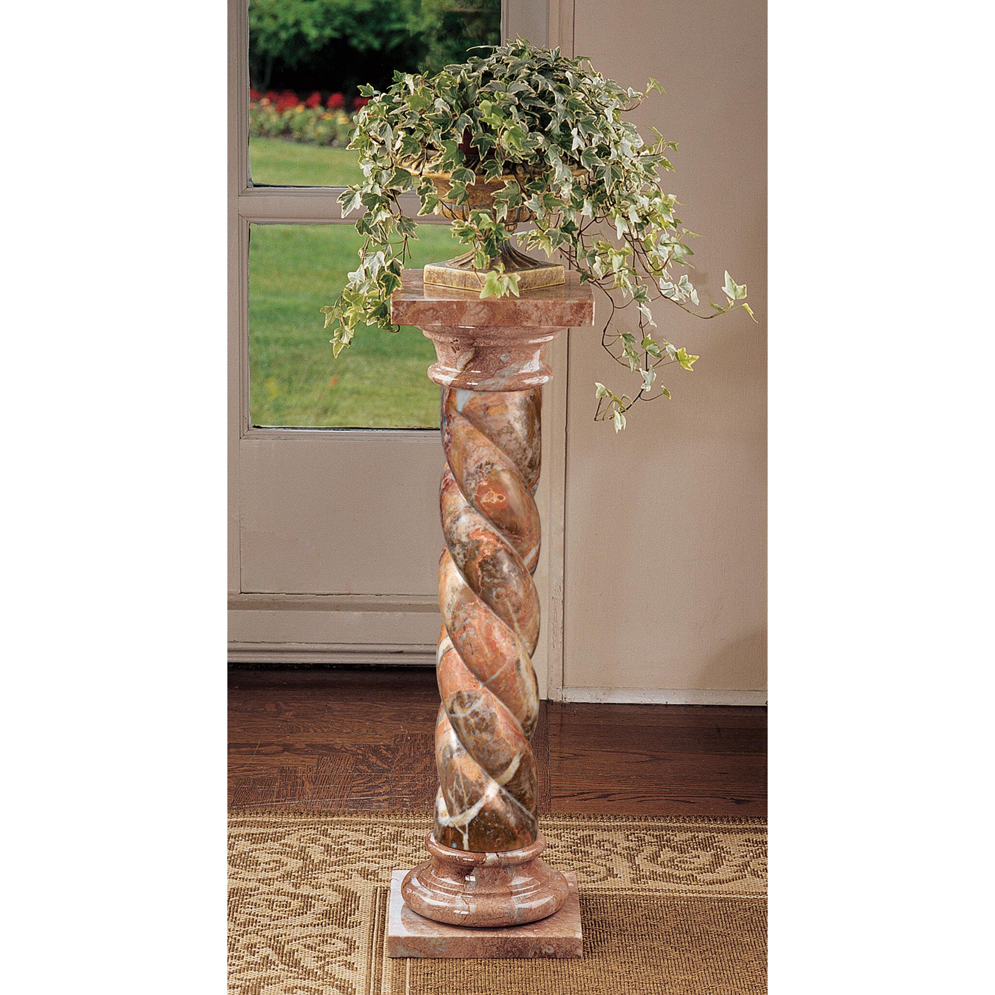 Design toscano venetian doges pedestal plant stand reviews wayfair reviewsmspy