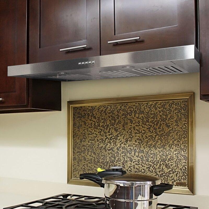 30 Brillia 750 Cfm Ducted Under Cabinet Range Hood
