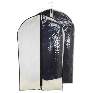 Suit Garment Bag with Clear Panel