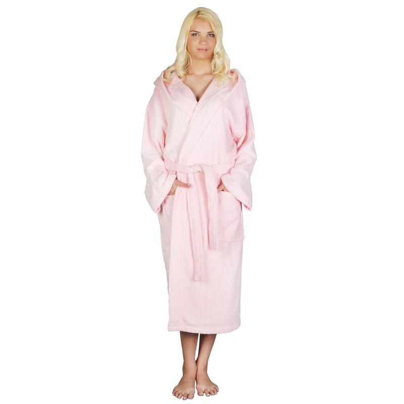 566f57e0e4 Latitude Run Skidmore Women s 100% Cotton Terry Cloth Bathrobe   Reviews