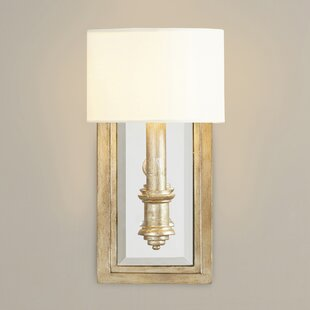 Candle sconces youll love wayfair clemson 1 light candle wall light mozeypictures Images
