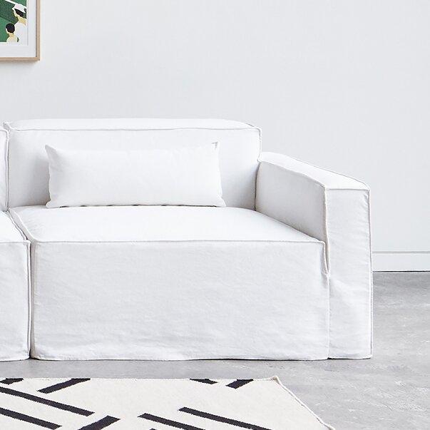 Gus Modern Mix Modular Sofa Slipcover   Wayfair