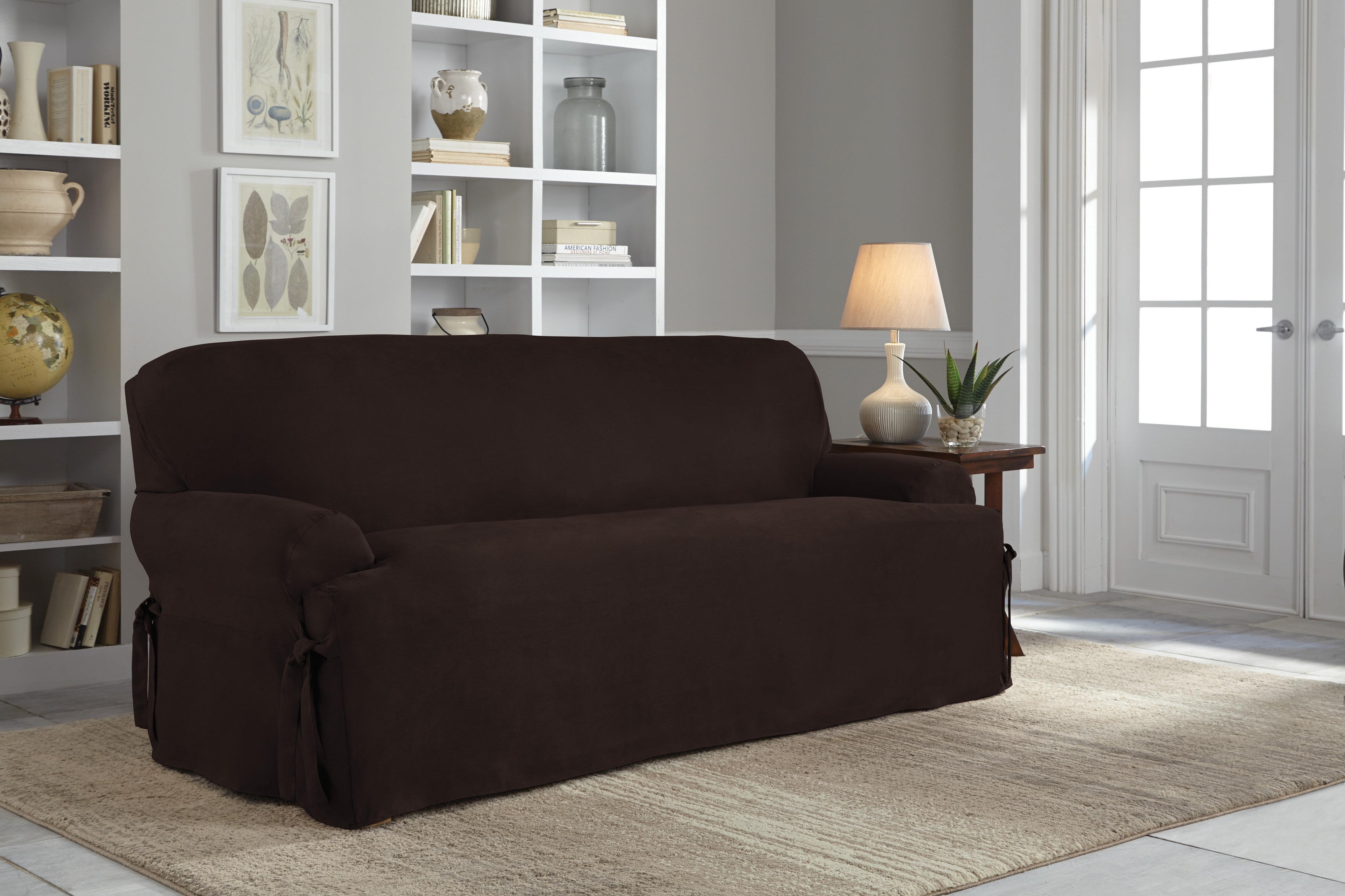 Unique sofa T Cushion Slipcover