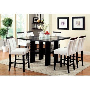 Equuleus 7 Piece Pub Table Set by Latitude Run