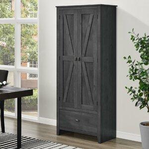 Wittenburg 72″ H x 30″ W x 15.8″ D Storage Cabinet