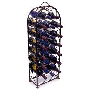 Brussels 23 Bottle Floor Wine Bottle Rack by Fleur De Lis Living