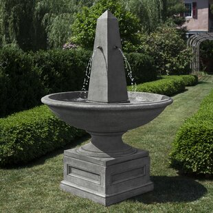 Condotti Concrete Obelisk Fountain