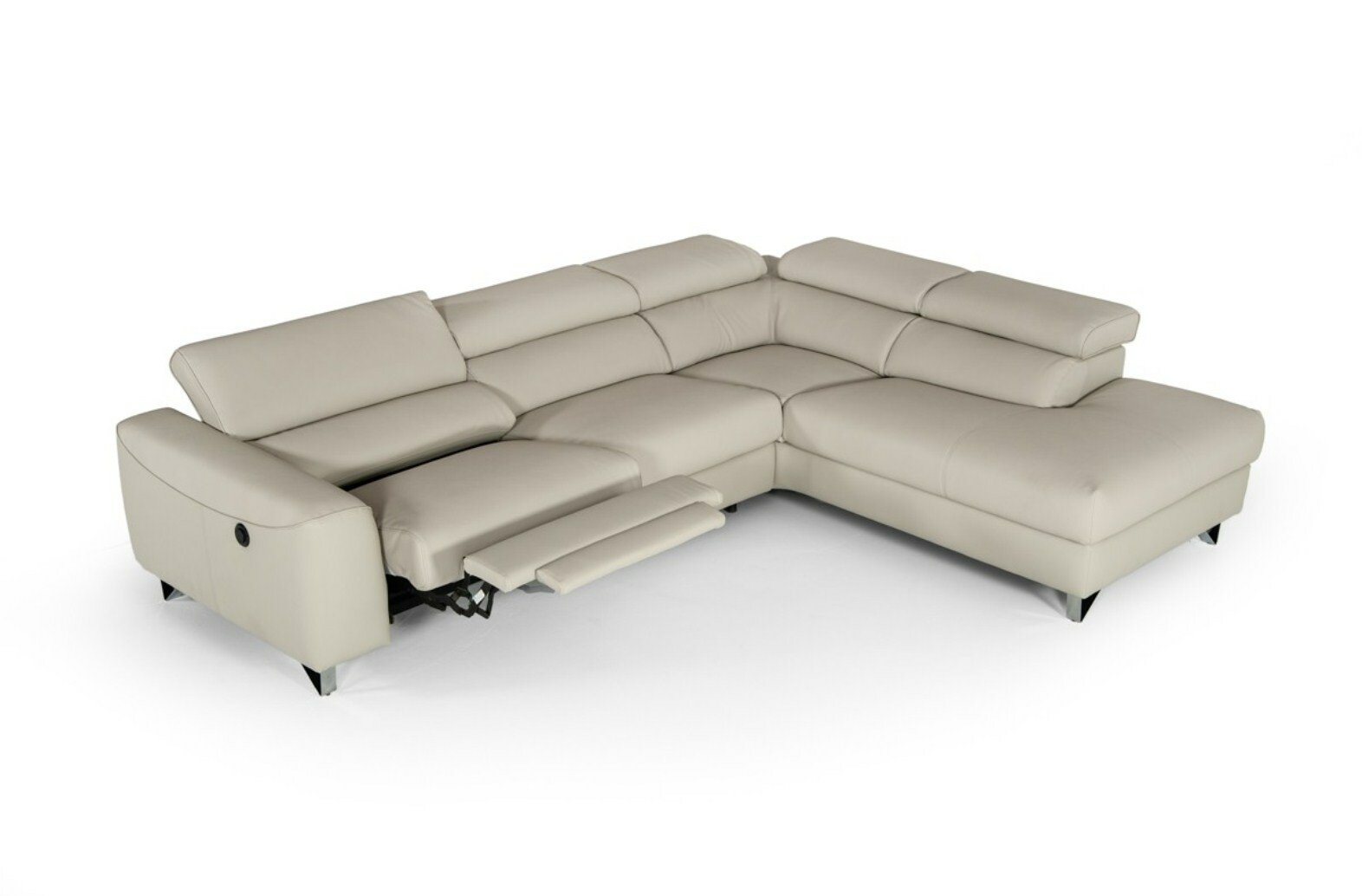 Charmant Rondo Right Hand Facing Modern Reclining Sectional